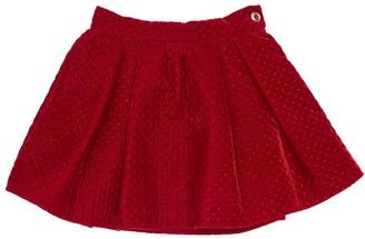 Mi Mi Sol Velvet Mini Skirt