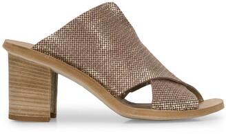 Officine Creative Sidoine metallic sandals