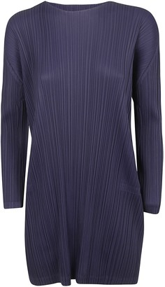 Pleats Please Issey Miyake Pleated Dress
