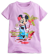 Disney Minnie Mouse Tee for Girls - Disney's Polynesian Village Resort - Walt World