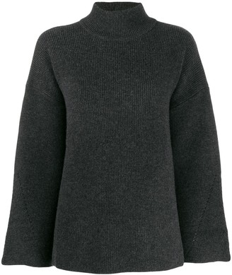 Le Kasha Antibes knit swing jumper