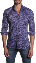 Jared Lang Camo Long Sleeve Semi-Fitted Shirt