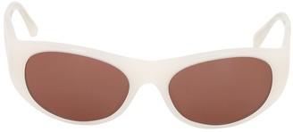 Oliver Peoples Exton Acetate Mask Sunglasses