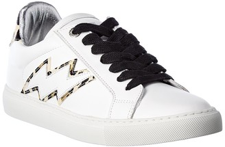 Zadig & Voltaire Leather Sneaker
