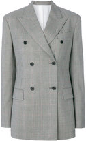 Calvin Klein double-breasted tweed blazer