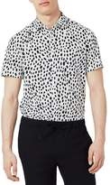 Topman Dotty Print Shirt