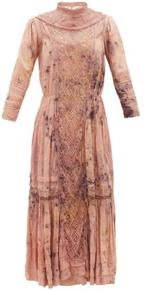 Mimi Prober - Victoria Botanical-dyed Cotton Dress - Pink