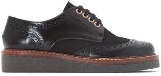 Jonak Amyrrhe Leather Platform Brogues