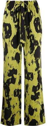 Dvf Diane Von Furstenberg Denise high-waisted trousers