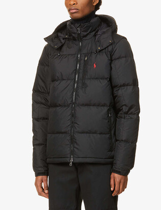 Polo Ralph Lauren El-Cap logo-embroidered recycled-polyester down jacket