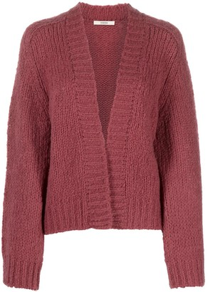 Odeeh Chunky-Knit Open Front Cardigan