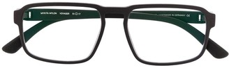 Mykita Voyager rectangular-frame glasses