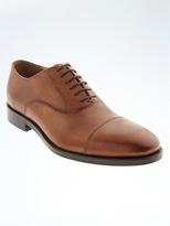 Banana Republic Kevin Italian Leather Cap Toe Oxford