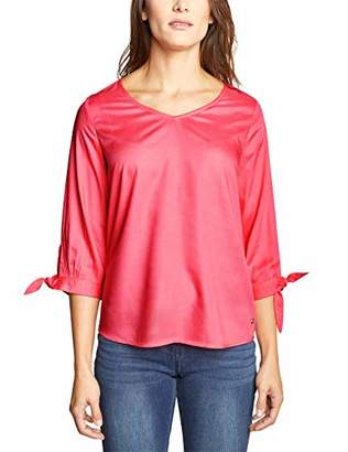 Cecil Women's 341335 Blouse, (neo Coralline red 11664), M