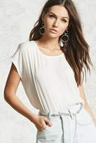 Forever 21 Contrast Boxy Top