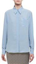 Victoria Beckham Silk Pocket Shirt