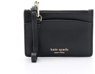 Kate Spade Sylvia grained-effect cardholder