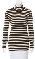 Bouchra Jarrar Striped Wool Sweater