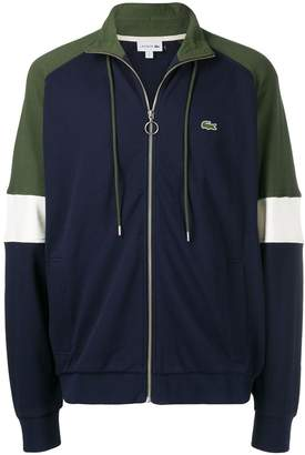 Lacoste colour block track jacket