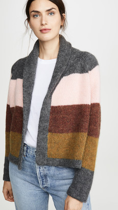 The Great Striped Lodge Cardigan