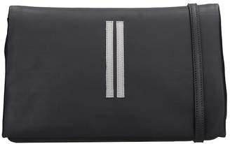 Rick Owens Ari Shoulder Bag In Black Leather