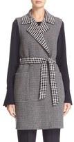 Max Mara 'Elettra' Reversible Wool & Cashmere Vest