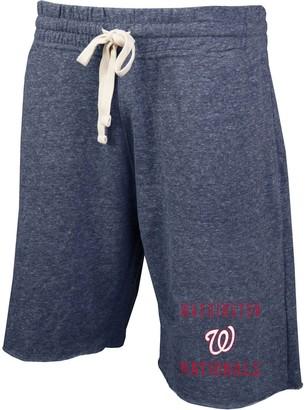 Unbranded Men's Concepts Sport Heathered Navy Washington Nationals Mainstream Tri-Blend Shorts