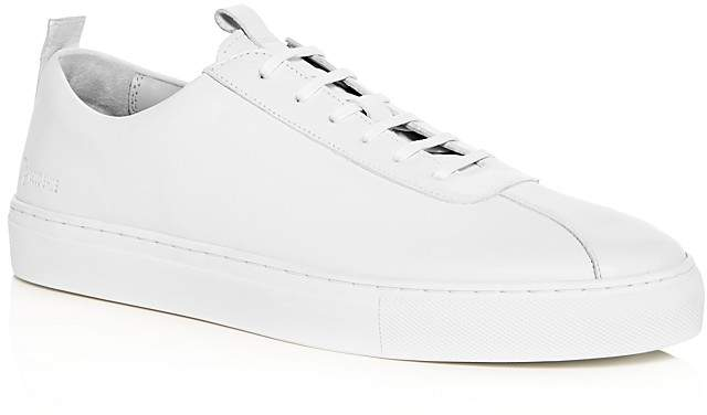 Grenson Men's Sneaker 1 Leather Lace up Sneakers