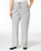 Karen Scott Plus Size Lounge Pants, Only at Macy's