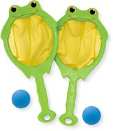 Melissa & Doug Froggy Toss & Catch Net and Ball