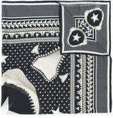 Givenchy printed scarf - men - Cashmere/Modal - One Size