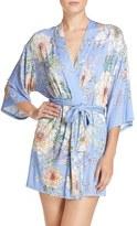 Flora Nikrooz Women's 'Magnolia' Knit Short Robe