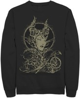 Disney Men's Sleeping Beauty Maleficent Crow Branches Sweatshirt