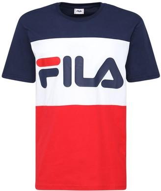 Fila Urban Large Logo Cotton Jersey T-Shirt