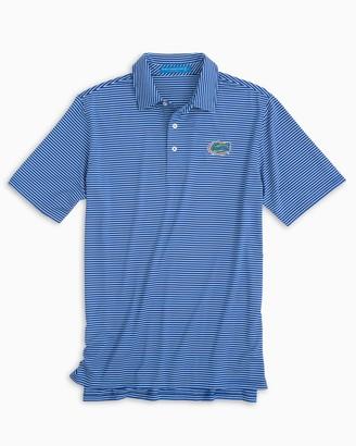 Southern Tide Florida Gators Striped Polo Shirt