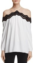 Ramy Brook Sandy Cold Shoulder Blouse