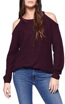 Sanctuary Women's Riley Cold Shoulder Sweater