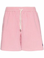 Polo Ralph Lauren striped polo pony swim shorts