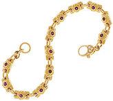 "Judith Ripka 14K 0.45 cttw Gemstone & Diamond 6-3/4"" Bracelet, 18.2g"