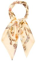 Hermes Champignons Silk Scarf