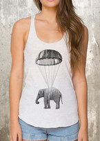 Etsy Elephant in Parachute Women's Tank Top - American Apparel - Available in XS, S, M and L