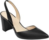 Marc Fisher Slingback Pointed Toe Block Heel Sandal