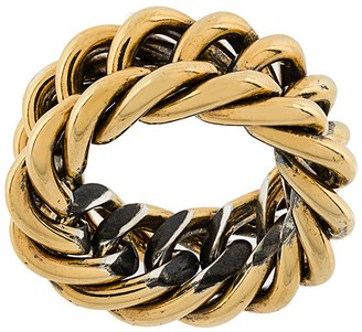 Ugo Cacciatori Chunky Chain Detail Ring