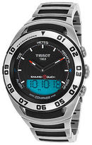 Tissot T0564202105100 Men's Sailing-Touch Multi-Function Black Rubber and SS