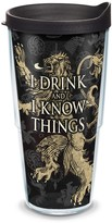"""Tervis Game of Thrones """"I Drink and I Know Things"""" Tumbler"""