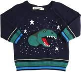 Billybandit Dinosaur Knitted Cotton Pullover