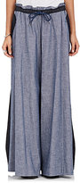 Sacai Women's Cotton Wide-Leg Pants