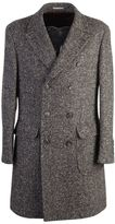 Brunello Cucinelli Herringbone Wool And Cashmere Coat