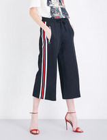 Gucci Striped-sides jersey trousers