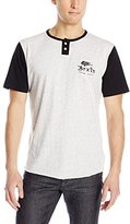 Brixton Men's Flier Short Sleeve Henley
